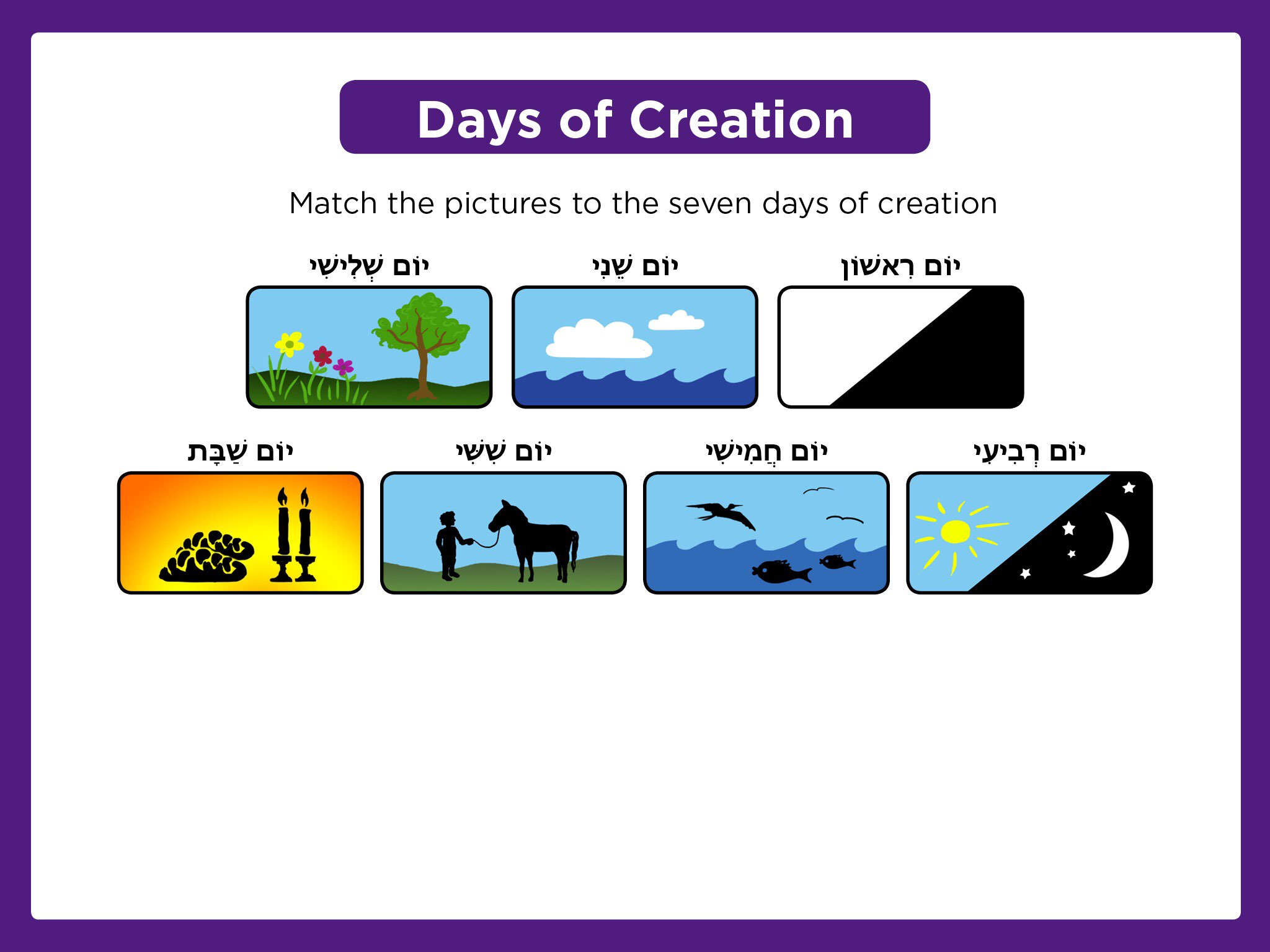 Etgar Days Of Creation