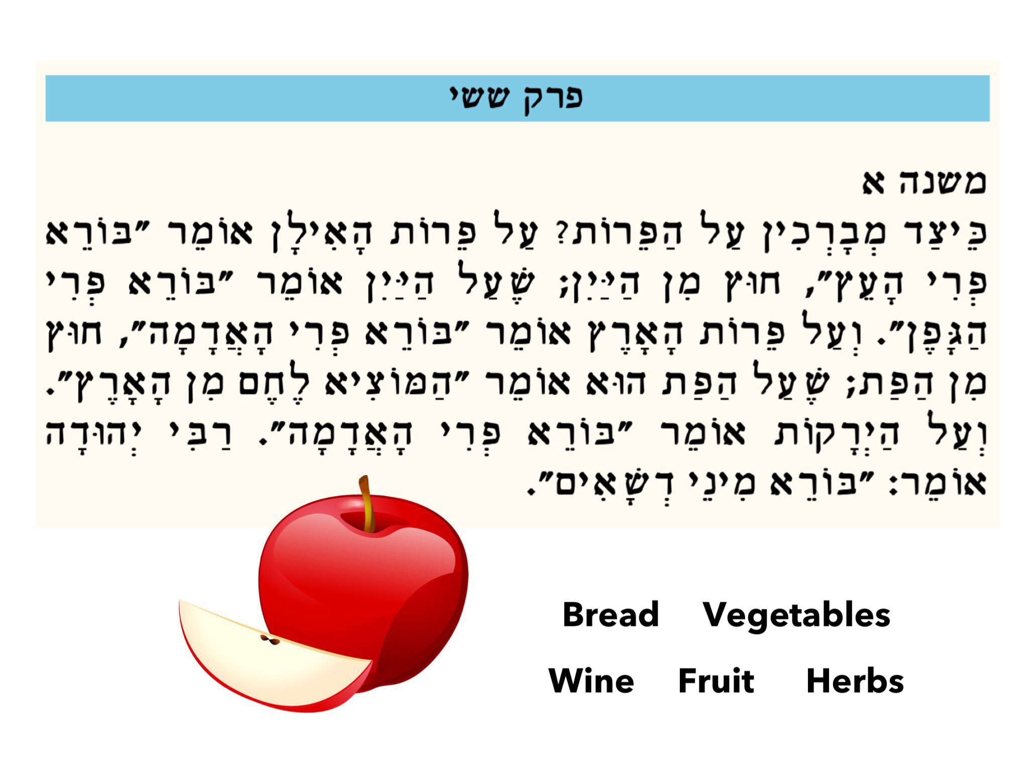 Mishna Brachos 6:1 by Ji Team Sammy - Educational Games for