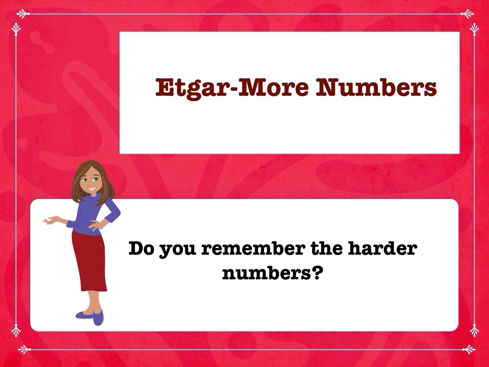 Etgar-More Numbers by Mrs S Bernstein - Educational Games